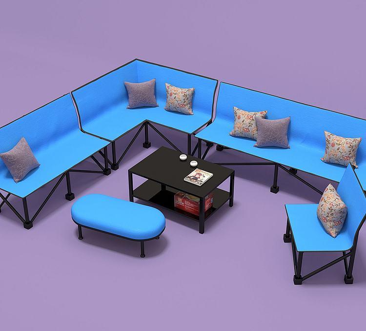 折叠椅组合