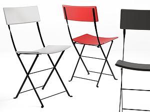 單椅靠背椅休閑椅模型3d模型