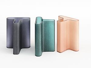 器皿花瓶異形花瓶模型3d模型