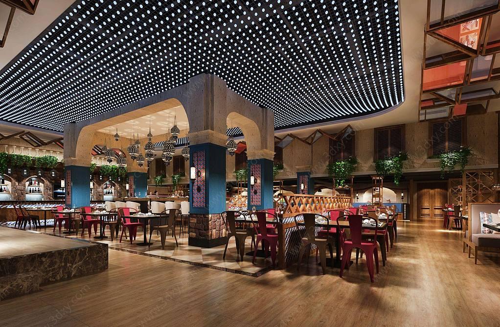现代东南亚餐厅