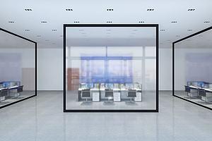 税务局办公室模型模型