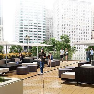 庭院景觀模型3d模型