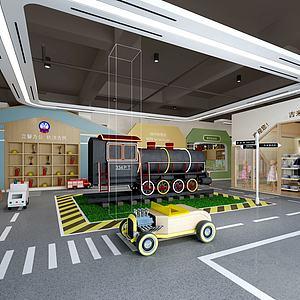 兒童體驗中心模型3d模型