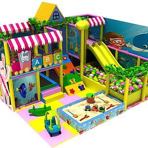 兒童設施模型3d模型