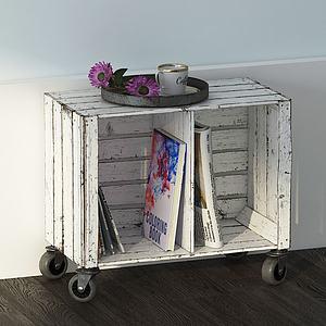 邊柜3d模型