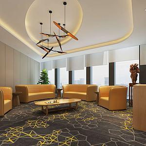 会议室休息室模型