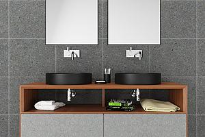 现代洗手台组合