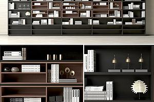现代装饰柜架置物柜架
