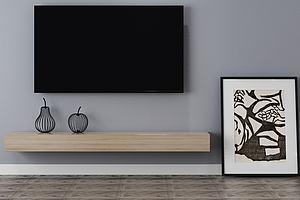 电视柜电视背景墙装饰