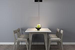 现代简约餐桌椅