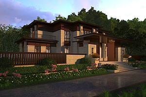 新中式独栋别墅豪宅