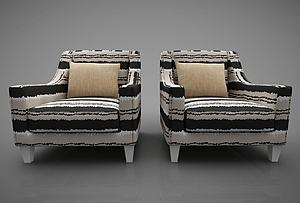 沙发椅子模型3d模型