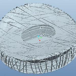 鸟巢模型3d模型