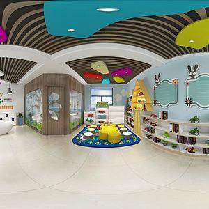 留守兒童樂園模型3d模型