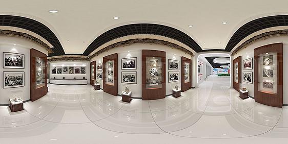 3d鎮海公館模型