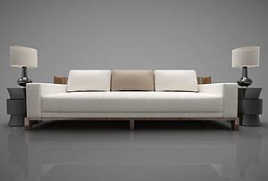 双人沙发模型3d模型