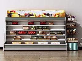 水果保鲜柜模型模型