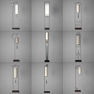 現代風格落地燈模型3d模型