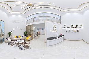 美容院大厅模型模型