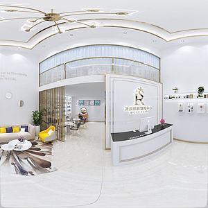 美容院大廳3d模型