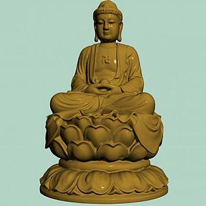 菩萨雕塑模型