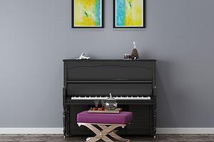 钢琴模型模型