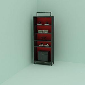 装饰柜组合模型