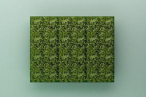 绿植背景墙模型模型