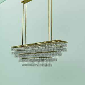 3d燈具<font class='myIsRed'>水晶吊燈</font>模型