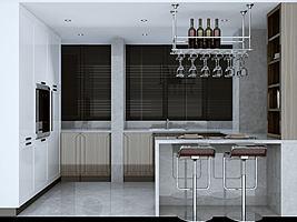 通透式3d厨房