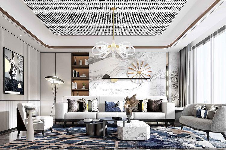 超现代客厅沙发