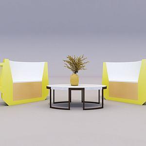 茶杯座椅3d模型