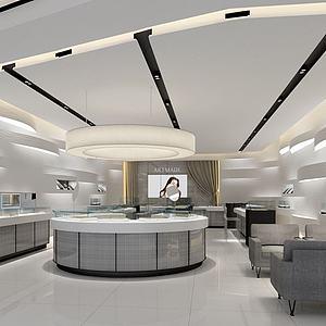 珠寶店3d模型