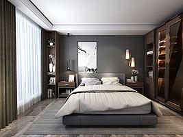 床及床头背景
