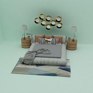床3d模型模型3d模型