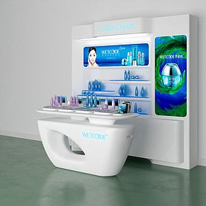 展銷柜3d模型