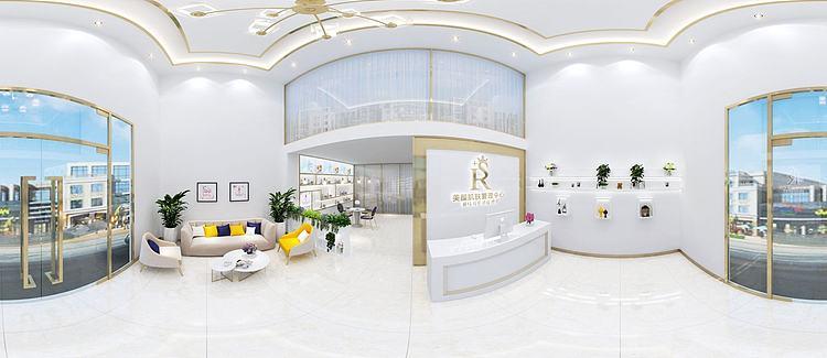 美容院大厅模型