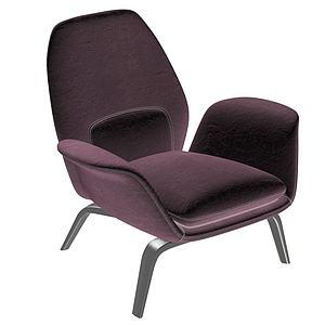 椅子組合3d模型
