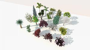 树木9-双数模型3d模型