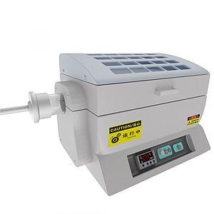 管式爐3d模型