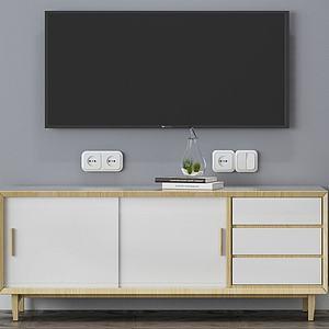 電視柜3d模型