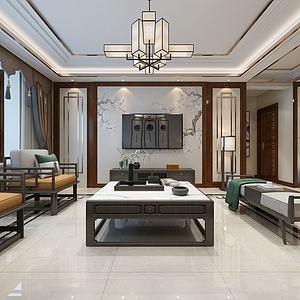 尚文苑客廳3d模型