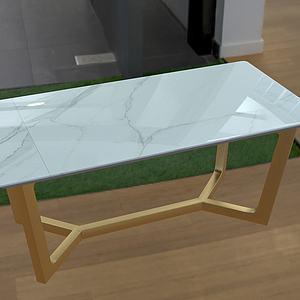 茶幾小桌子3d模型
