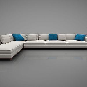 沙发新中式风格3d模型