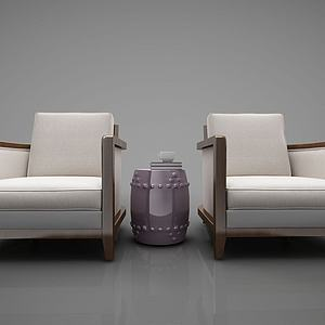 沙发椅子3d模型