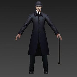 福爾摩斯3d模型
