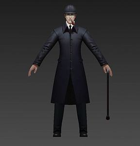 3d福爾摩斯模型