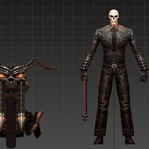 惡靈騎士3d模型