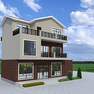 農家別墅最后模型3d模型
