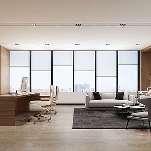 經理室3d模型